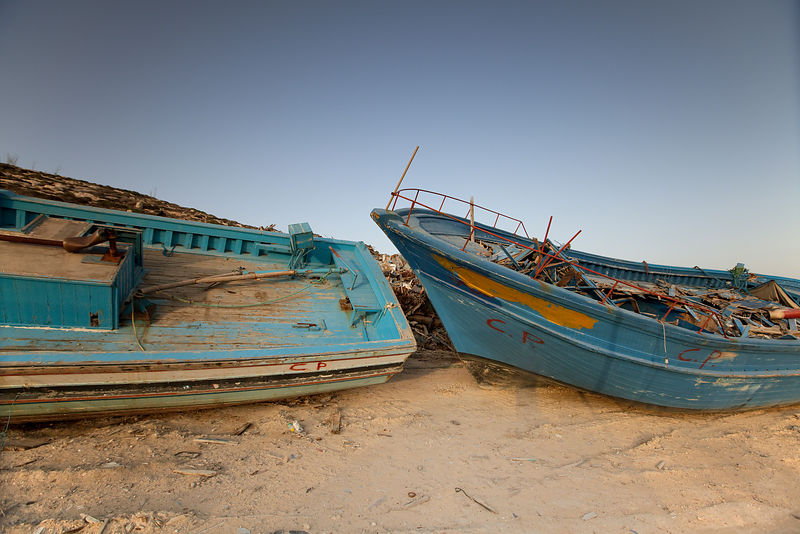 Wrecked Dreams Lampedusa