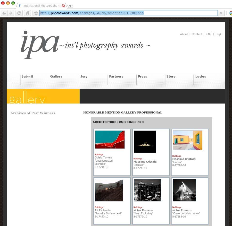 IPA-2010HonorableMentionPROLIST