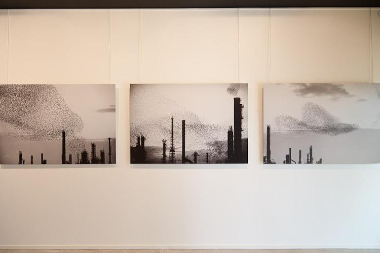 Refinery Triptych (150x100cm x 3 pieces) - DIBOND Mount