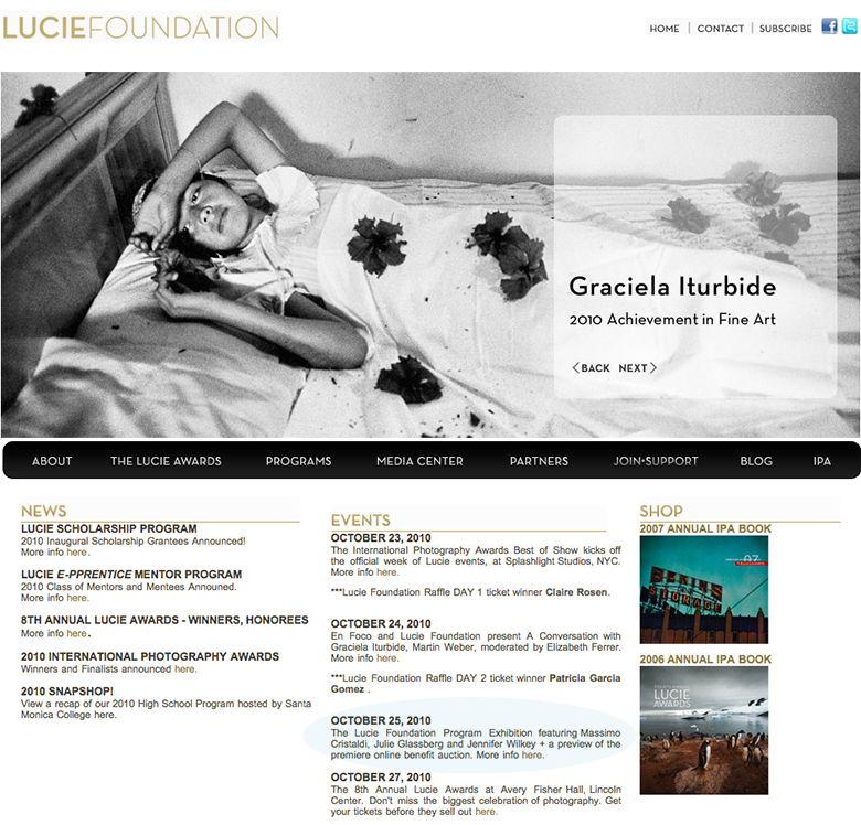 lucie-home-page