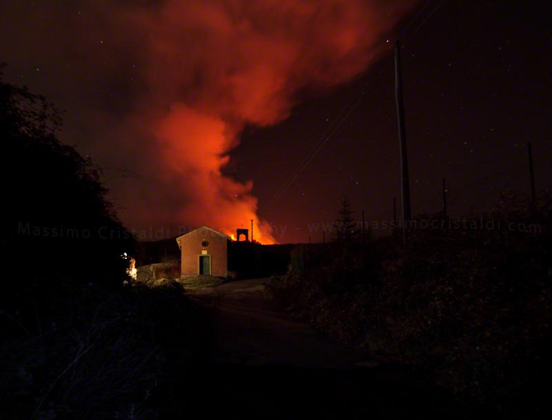 Mt. Etna eruption 13 Jan 2011