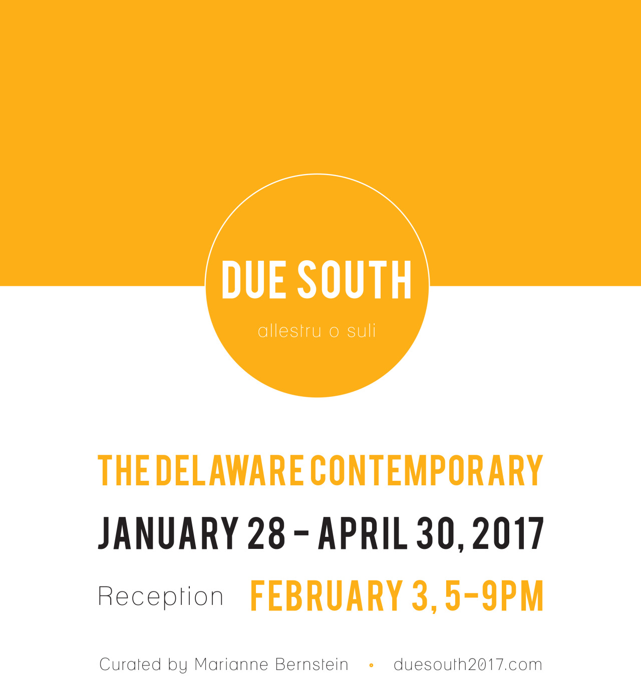 due-south-invitation